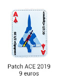 Patch gomme ACE 2019 - 9 euros