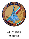 Patch rond ATLC 2019 - 9 euros