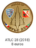 Patch rond ATLC 28 - 8 euros